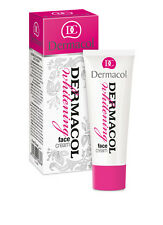 DERMACOL whitening face cream day night reduce pigment spots absorb UVB rays