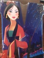 """Disney Princess """"Mulan"""" Tin Metal Letter """"M"""" Sign Wall Art Decor Collectible"""