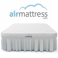 Air Mattress FULL Inflatable Bed Fitted Sheet Skirt Built in Airbed Pump