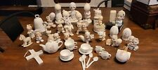 Precious Moments Haul 38 Pieces No Boxes Previously Owned but Good Condition