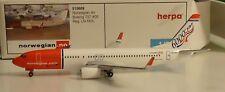Herpa 1:500    Norwegian  Airlines 737-800  -   515689
