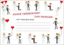 35 romantische Hochzeit Ballonkarten Luftballon Karten Ballonflugkarten