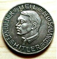 WW2 GERMAN COMMEMORATIVE COLLECTORS COIN AHITLER 30 OPFERPFENNIGE