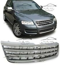 FRONT CHROME GRILL FOR VW TOUAREG 7L 02-06 NO EMBLEM SPOILER BODY KIT NEW