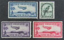 nystamps British New Zealand Stamp # C6-8 O70 Mint OG H $38   L23x3148