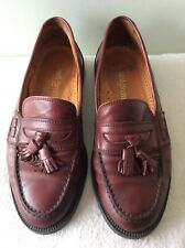 RUSSELL&BROMLEY real leather men's chestnut loafer size 40.5