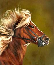 "High Quality Oill Painting ""Horse Portrait #150"" 24""x20"""