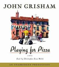 Playing for Pizza by John Grisham (2008, CD, Unabridged)