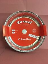 """35 x Round Foil Dishes Container Tray Baking Cake Pie Tin 9"""" (23cm)"""