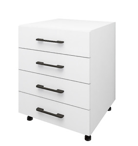 Hardis 4 Drawers Base Business Commercial Office Cabinet Furniture -- Flat Pack