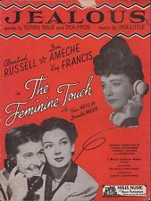 "ROSALIND RUSSELL film song THE FEMININE TOUCH ""Jealous"" DON AMECHE ~ MGM 1941"