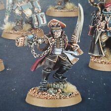 Astra militarum Imperial guard tempestus scion commissar