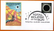 John Day Fossil Beds National Monument. Total Eclipse of the Sun FDC