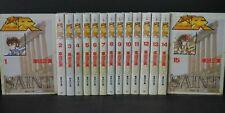 Japan Masami Kurumada manga Lot: Saint Seiya (Bunko ver.) vol.1~15 Complete Set