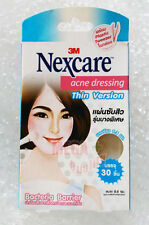 3M Nexcare Acne Dressing For Acne Absorbthin Thin Version Pads 30 peices