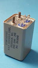 Relay, Electromagnetic,28VDC,115VAC,N.A.P,5346-2HS, 271MT143-P001