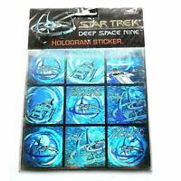 Star Trek Rare Deep Space Nine Hologram 3D Sticker made in England 1993