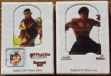BattleCon Promo Packs: Prince Elien & Bruce Lee NEW MINT