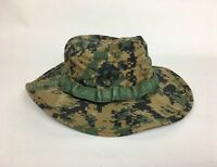 New USMC Woodland MARPAT Field Cover Boonie Hat Size Small Unissued
