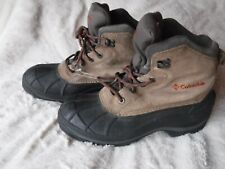 Mens Columbia Boots Winter Rain Mudd Boots Size 9 Pre Owned