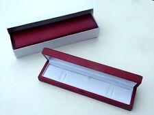 Real wood veneer bracelet watch gift presentation box Matt Satin Interior X 2