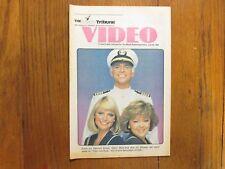 1984 The News Tribune (Ma)Video TV Mag.(LOVE  BOAT/PATRICIA  KLOUS/JILL  WHELAN)