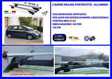 Kit Barre Portatutto -Portapacchi -Portabagagli- Citroen C4 Picasso dal 06>13