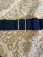 Civil War Reenactment Blue Ribbon Belt