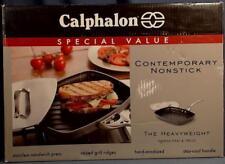 NEW Calphalon Contemporary Nonstick Heavyweight Panini Pan Press Steak Sandwich