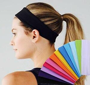 Plain Kylie Hairband Sports Headband Yoga Gym Stretch Unisex, Not Sweat Band
