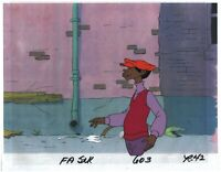 FAT ALBERT & the Gang Rudy Production Animation Cel from Filmation 1972-75 r42