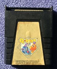Atari 400/800/XL/XE - Q*Bert (Parker Brothers) - game cartridge only - tested