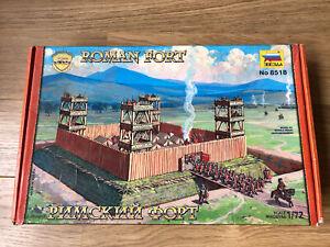 ZVEZDA 8518 ROMAN FORT MODEL KIT BOXED 1/72 SCALE UNUSED SEE DESCRIPTION