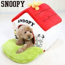 Pet paradise snoopy garden with red roof house small washable 998-55259