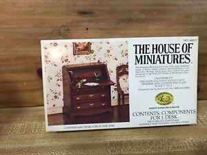 HOUSE OF MINIATURES Furniture Kit CHIPPENDALE DESK KIT #40017