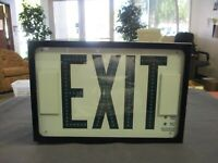 (3) Exitronix G602/WB/AT/DL Emergency Exit Signs