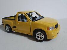 1999 Burago FORD SVT F150 Diecast Lightning 1/21 Scale Truck yellow