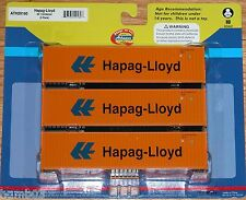ATHEARN 29160 40' CONTAINER 3-PACK HAPAG-LLOYD
