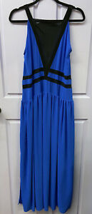 NEW THREE OF SOMETHING CASTLE IN THE SKY MAXI, ROYAL BLUE MED/12