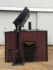 BEST TOP LOADER Log Burner Outdoor Wood Burner Boiler Furnace Stove Outside