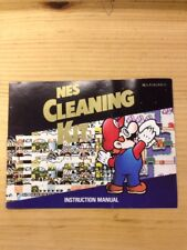 Ultra Rare Nintendo NES Cleaning Kit Instruction Manual Booklet