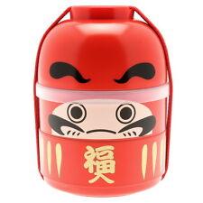 1pc Japanese Kokeshi Daruma  Bento box for Made In Japan #280-228