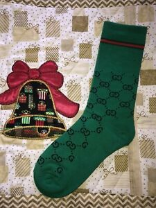 GUCCI Cotton Blend Socks One size Fit For Men 8-12 Free Shipping