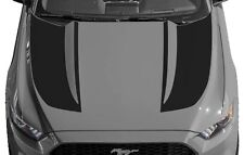 Inverted Hood Spear Vinyl Graphics Decals Stripes for Ford Mustang 2015 & Up