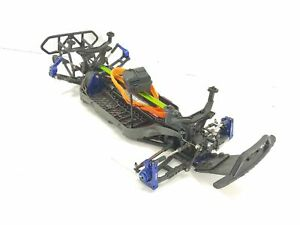 Traxxas Slash 4x4 LCG 1/10 Short Course Truck Roller Slider Chassis RPM Aluminum