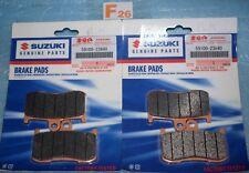 4 plaquettes de frein d'origine SUZUKI GSX 1300 B-KING GSX-S 750 59100-23840