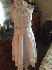 Monsoon Fusion 50s Style Halterneck Dress US Size 8