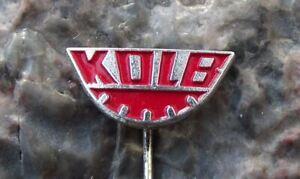 Vintage Kolb East German DDR GDR Engineering Company Machine Tools Pin Badge