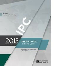 2015 International Plumbing Code (IPC) by ICC (On CD) with 2018 Update