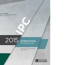 2015 International Plumbing Code (IPC) by ICC PDF CD